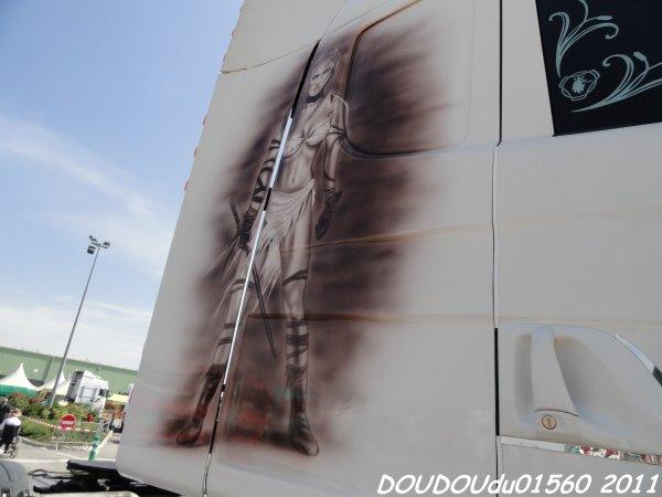 Scania R Transports CDG - Handicaminotrucks Montélimar 2011