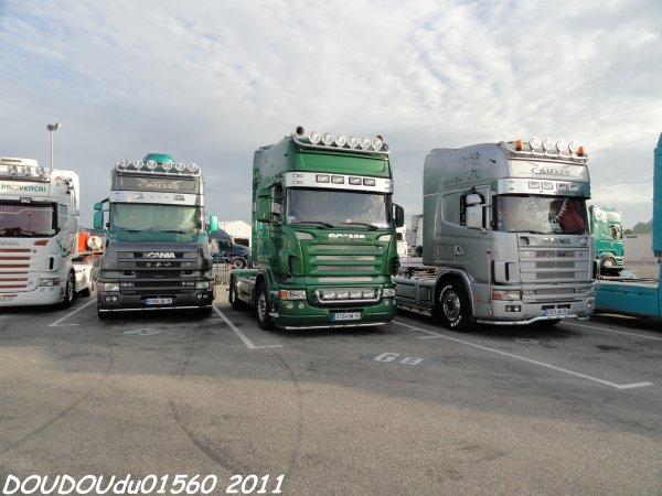 Scania R Transports Montarnal - Handicaminotrucks Montélimar 2011