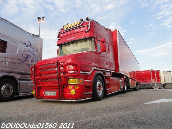 Scania T500 V8 STH - Handicaminotrucks Montélimar 2011