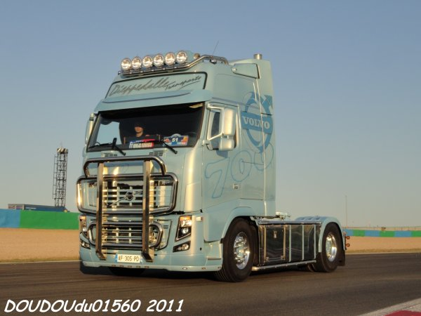 volvo fh16 700 dieppedalle transports magny cours 2011 trucks spirit. Black Bedroom Furniture Sets. Home Design Ideas