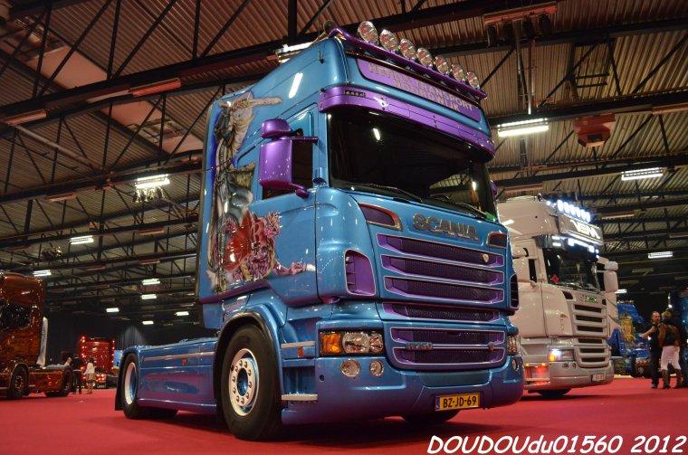Scania R730 V8 Heros Transports Noordwijk - Truckshow Ciney 2012