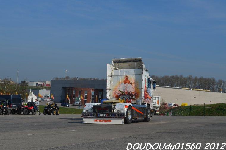 Scania 143 500 V8 Sanchotrans - Truckshow Ciney 2012