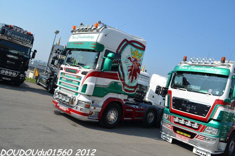Van Caudenberg - Debrouwer - Truckshow Ciney 2012