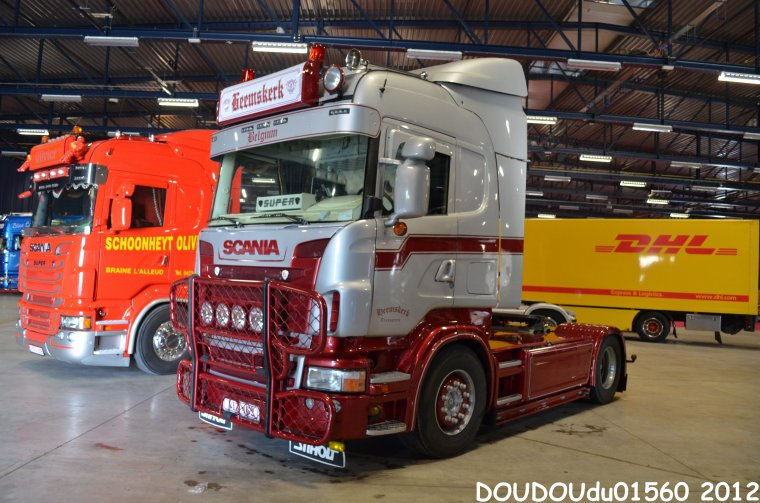 Scania R500 V8 Heemskerk - Truckshow Ciney 2012