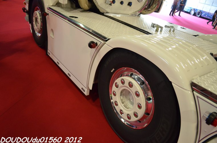 Scania R730 V8 TBL - Truckshow Ciney 2012