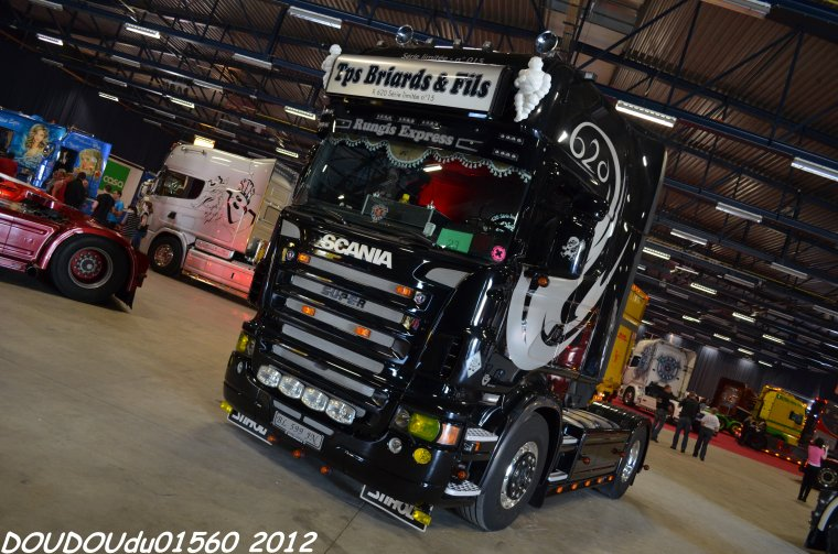 Scania R620 V8 Transports Briards - Truckshow Ciney 2012