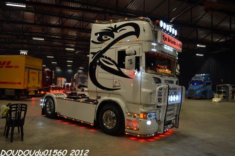 Scania R500 V8 Transports Briards - Truckshow Ciney 2012