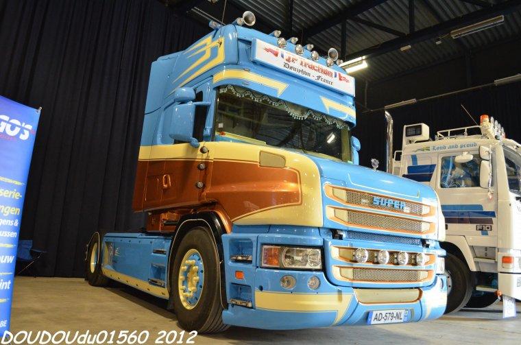 Scania T144 530 V8 JP Traction - Truckshow Ciney 2012