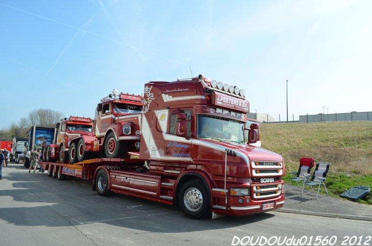 Transports J.Peeters & Zn - Truckshow Ciney 2012