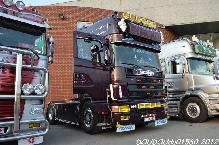 Truckshow Ciney 2012