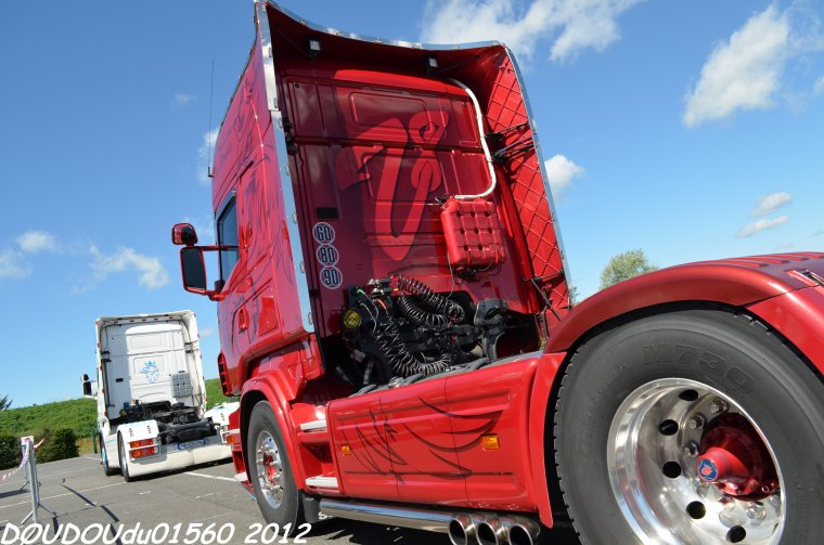 Scania R620 V8 JLS Traction - Magny Cours 2012