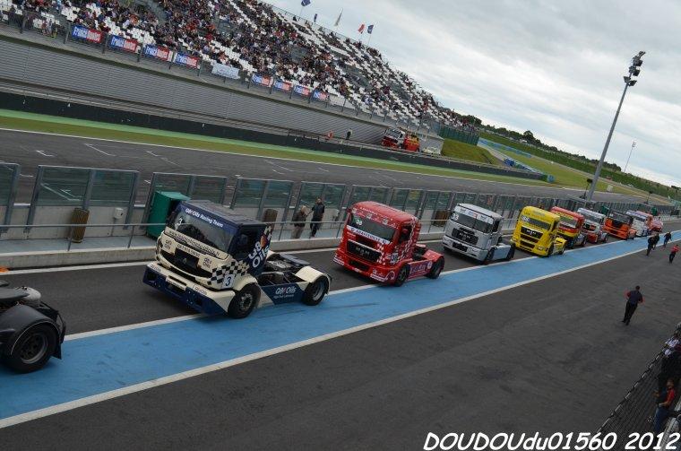Camions de courses - Magny Cours 2012