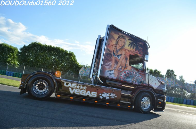 Scania T164L 480 V8 Transports Durand - Magny Cours 2012