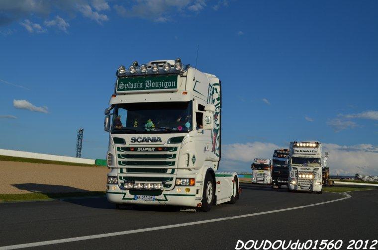 Scania R560 V8 Sylvain Bouzigon - Magny Cours 2012
