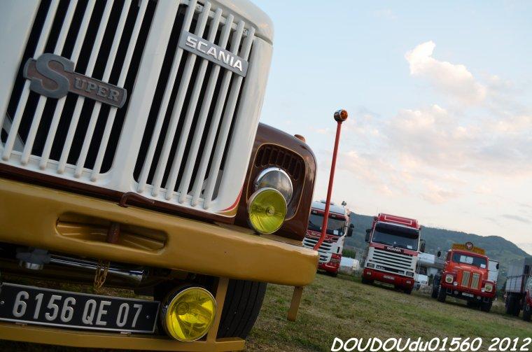 Camions ancien - Albertville 2012