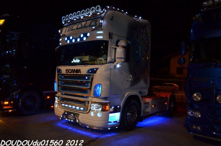 Scania R500 V8 Nicolo - Albertville 2012