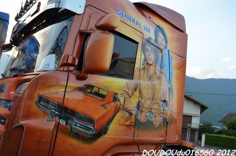 Scania R620 V8 Transports Gastaldi - Albertville 2012