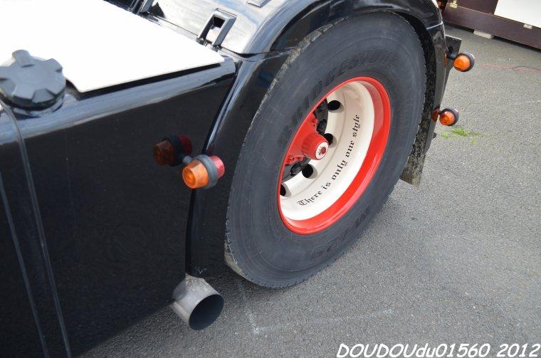 Scania 144L 530 V8 Jarno ter Horst - 24H du Mans 2012