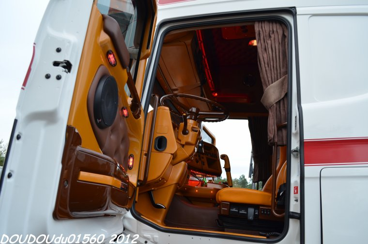 Scania R500 V8 Trans LG - 24H du Mans 2012