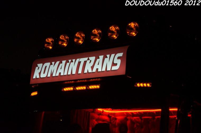 Scania R560 V8 RomainTrans - 24H du Mans 2012