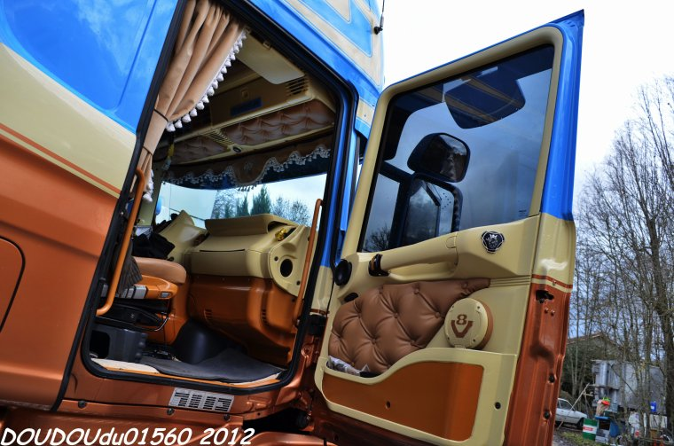 Scania T144 530 V8 JP Traction - Marcilloles 2012