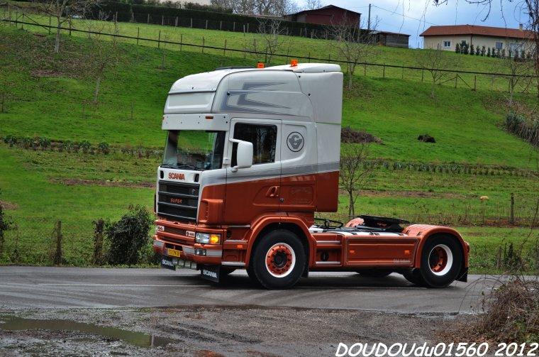 Scania 164L 480 V8 Transports Vout Fils - Marcilloles 2012