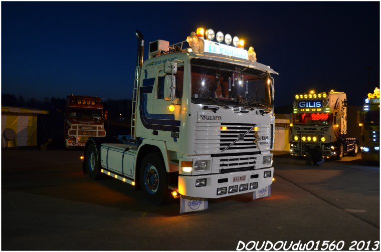 Old School - Truckshow Ciney 2013