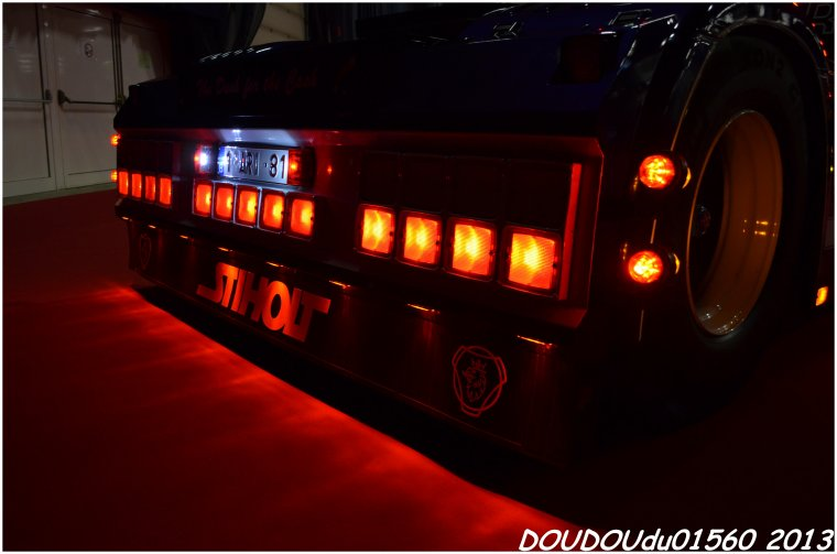 Scania R560 V8 K.D.N - Truckshow Ciney 2013