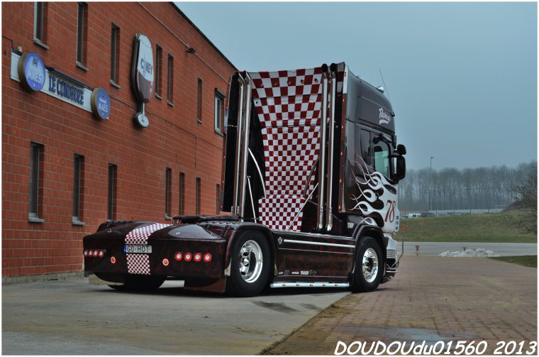 Scania R560 V8 Transports Repinski - Truckshow Ciney 2013