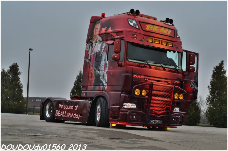 Daf XF 105 Transports Beau - Truckshow Ciney 2013