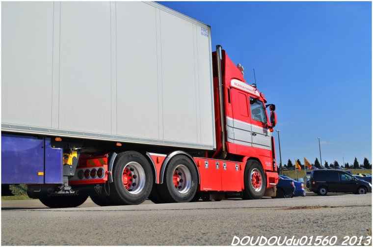 Scania 143M 420 V8 Axel Dubois Thermo Transit - Truckshow Ciney 2013