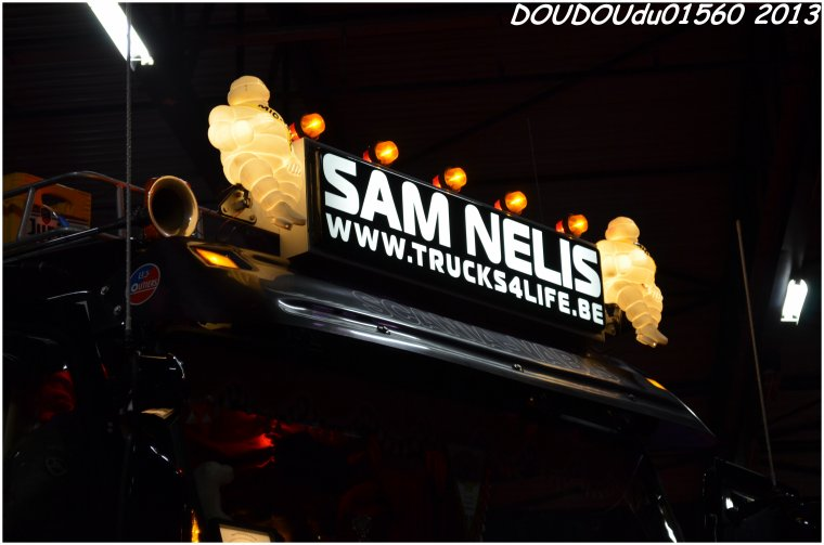 Scania 143M 450 V8 Sam Nelis - Truckshow Ciney 2013