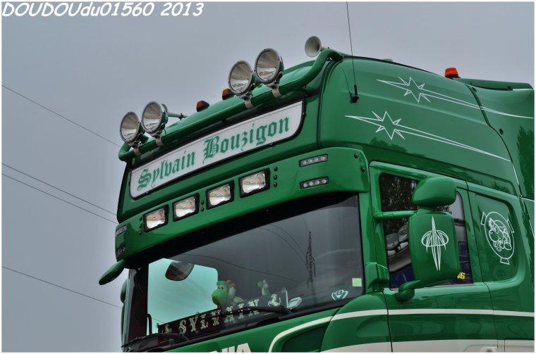 Scania R730 V8 Transports Sylvain Bouzigon - Champagnole 2013