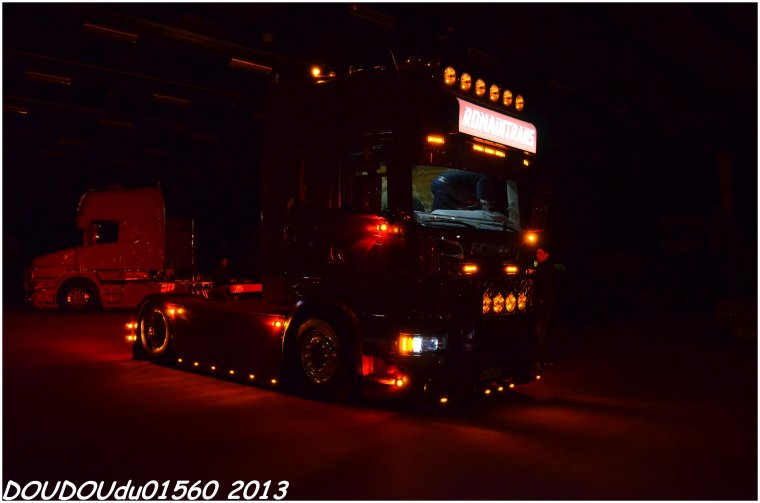 Scania R560 V8 Romaintrans - Truckshow Ciney 2013