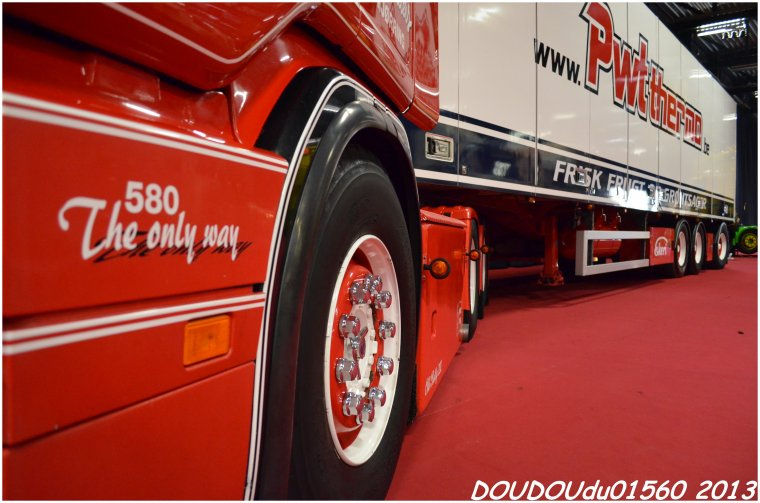 Scania 164L 580 V8 et R500 V8 PWT Thermo - Truckshow Ciney 2013