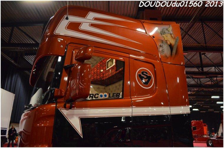 Scania 164L 480 V8 Sébastien Vout - Truckshow Ciney 2013