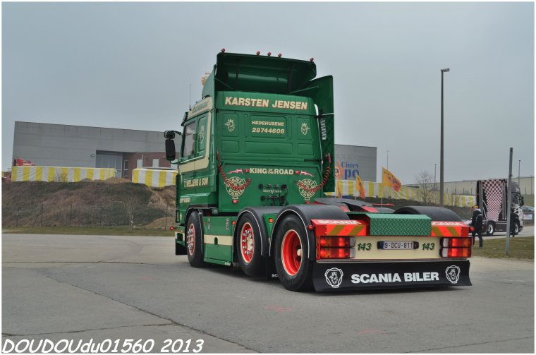 Truckshow Ciney 2013