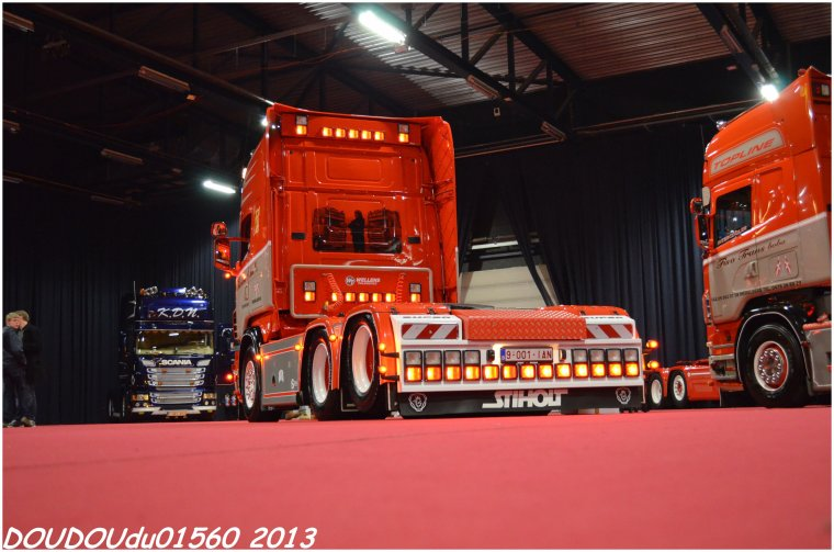 Scania R560 V8 Fisotrans - Truckshow Ciney 2013