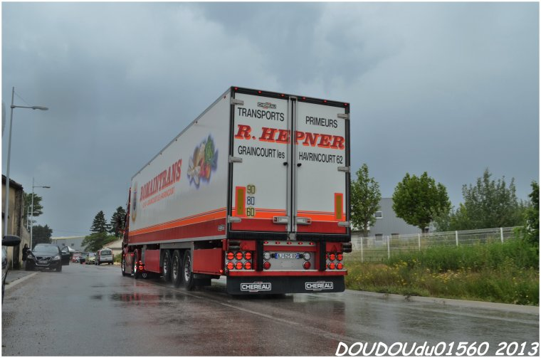 Scania R560 V8 Romaintrans - Handicaminotrucks Montélimar 2013