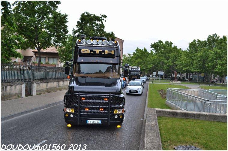 Transports STH - Handicaminotrucks Montélimar 2013