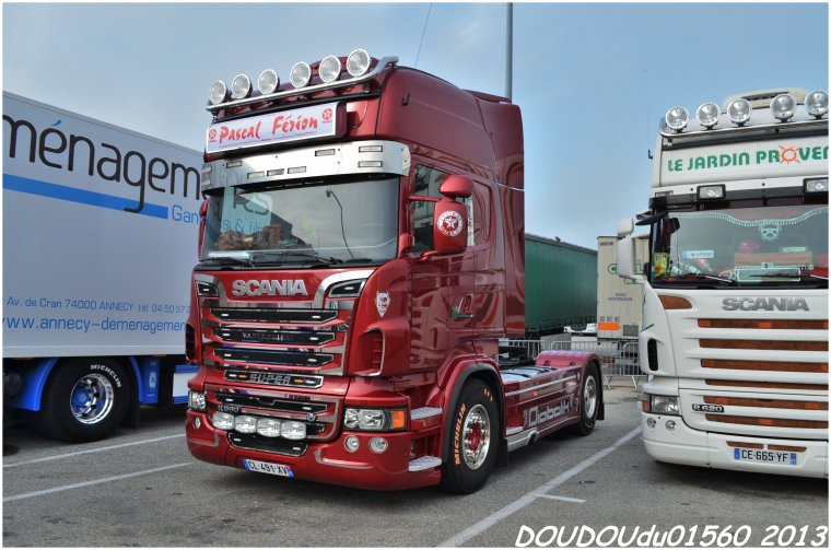 Handicaminotrucks Montélimar 2013