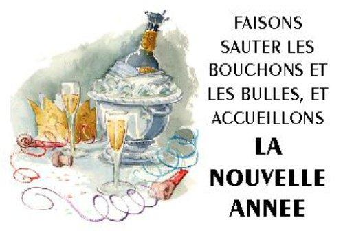 je vous souhaite un bon réveillon et une très bonne nouvelle année 2011