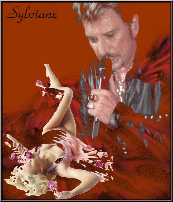bonsoir et douce nuit  avec des créas offerte par mes ami(es) jeff lajolie rose rouge nageuse(sylviane)