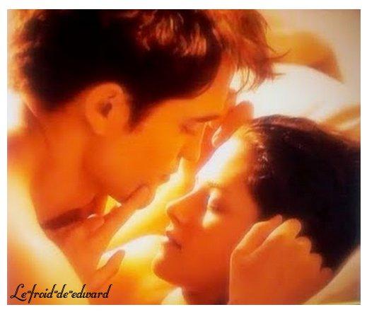 Première photo officielle d'Edward et Bella dans Breaking Dawn !