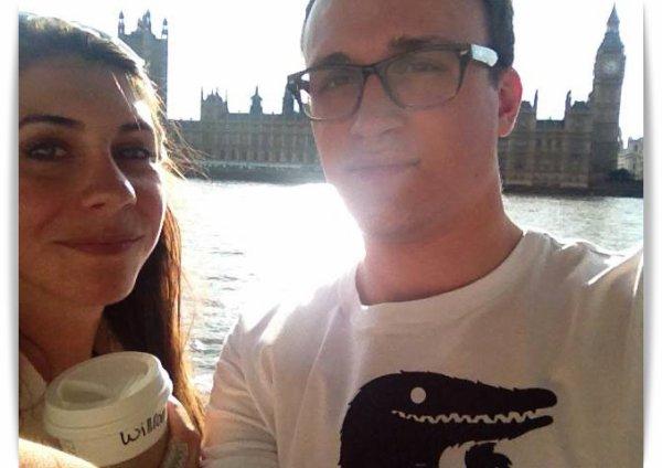 7 semaines post-op, à Londres :)