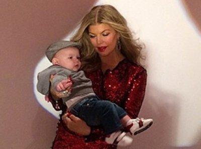 Fergie:  Cinq mois après la naissance d'Axl elle exhibe un corps parfait!