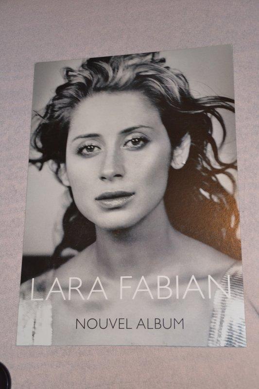 plv 1 er album en anglais Lara Fabian