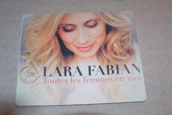 tapis de souris Lara Fabian