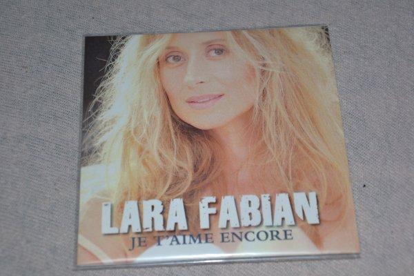 """single promo """"Je t'aime encore """" de Lara Fabian"""