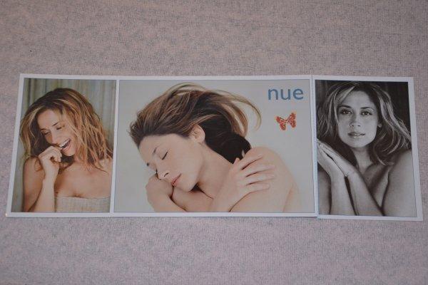 """carte postale tournée """"Nue"""" de Lara Fabian"""